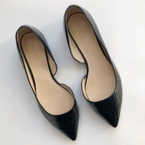 Nine West Pointed Black Saige Flats
